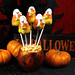 Candy Corn Ghosts (Cake Pops) by IrishMomLuvs2Bake