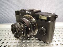 PentaxQ + Pentax auto110 lens