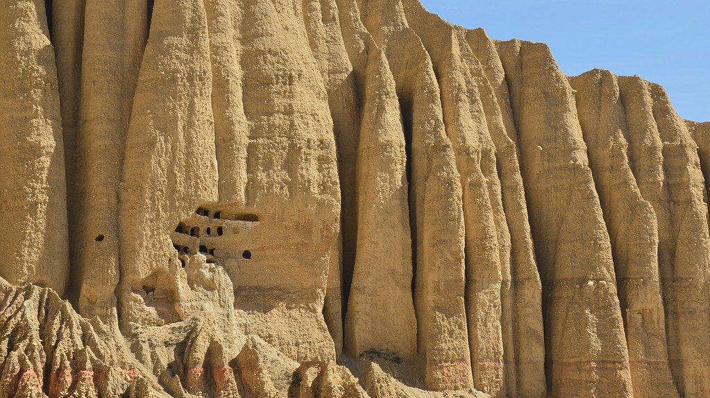 Caves in Upper Mustang