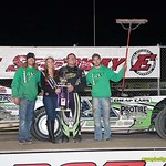 Jason Feger swept the Late Model portion of the UMP Nationals