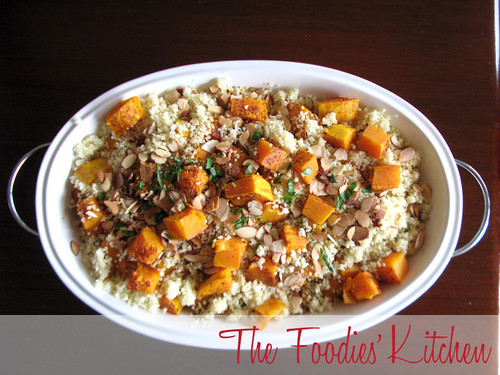 Couscous with Almonds and Butternut Squash