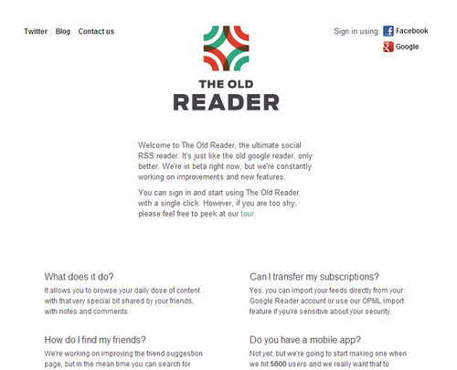 the Old Reader