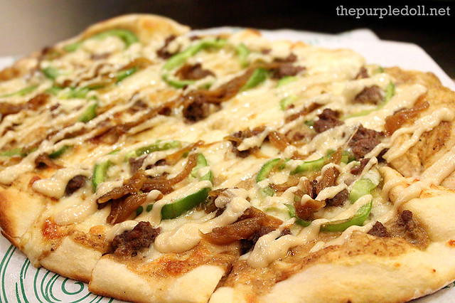 Angus Steak Pizza P575