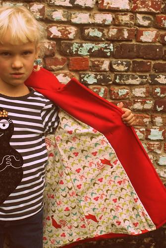 Winterjas voor Lili