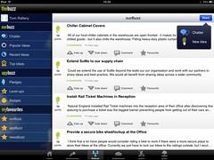 CloudApps SuMo adding an idea screen