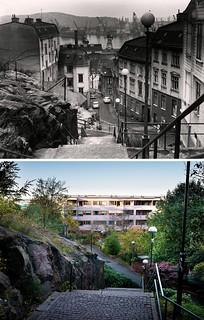 Gothenburg, Masthugget 1960 / 2012