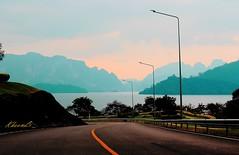 RatchaPrapha Dam, Suratthani Province,Thailand