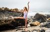 Beautiful Ballerina Model Goddess! Ballet on the Beach Swimsuit Bikini Model Portrait Photoshoot!