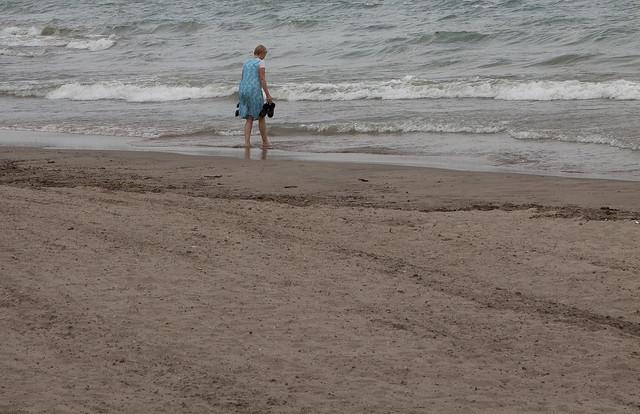 rinsing sand