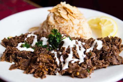 Beef Shawarma at Tyma'z
