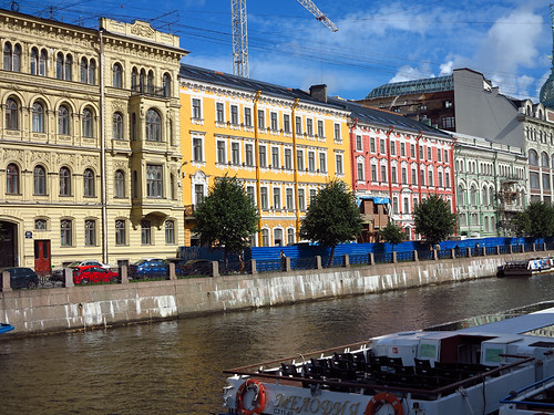 Along the Griboyedova Canal
