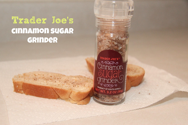 Trader Joe's Cinnamon Sugar Grinder