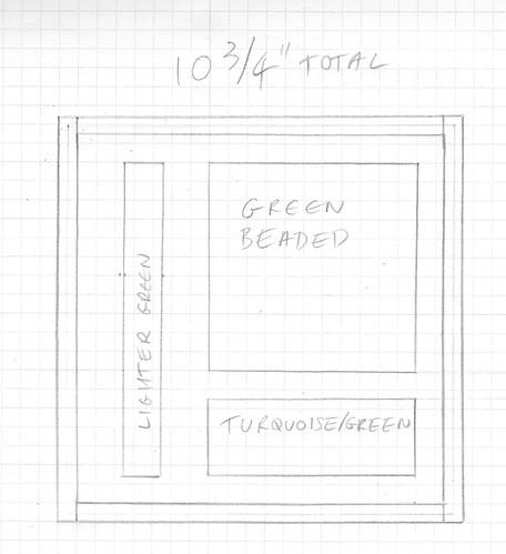 Dark green sketch 1