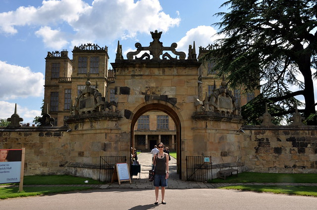 The Gate of Hardwick Hall