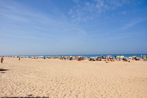 Playa junto a La Loma