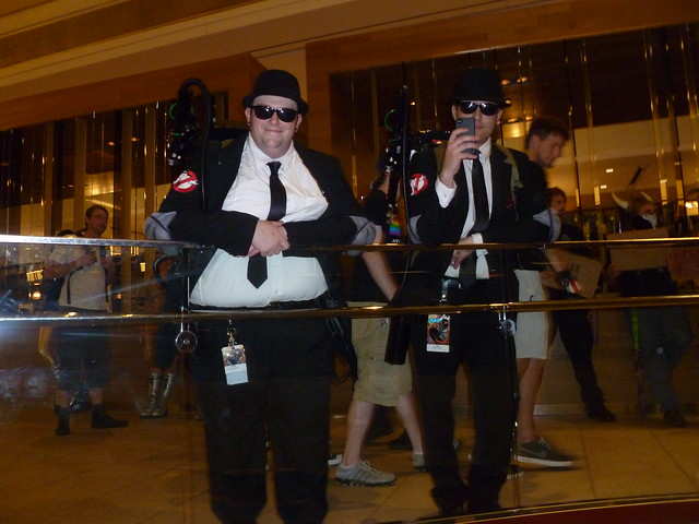 Ghostbustin' Blues Brothers