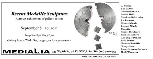 Medialia gallery Recent Medallic Sculpture exhibit