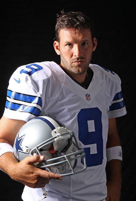 Dallas Cowboys Quarterback Tony Romo Editorial Stock Image