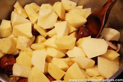 Patatas guisadas con chorizo (5)