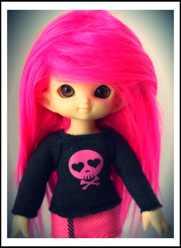 Pink Penelope by Among the Dolls