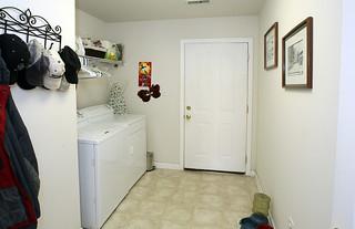 Mud room and laundry room at 5214 Craigs Creek Drive
