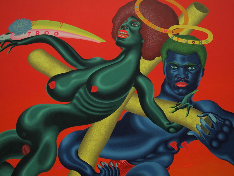 Peter Saul - Bewtiful and Stwong (1971)