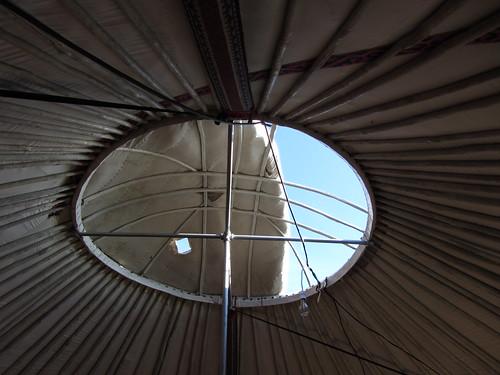 kazakh ger roof
