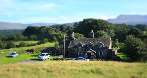Attempt at tilt shift by Helen in Wales