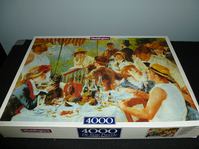 4000 piece puzzle luncheon at the boating party by. Black Bedroom Furniture Sets. Home Design Ideas