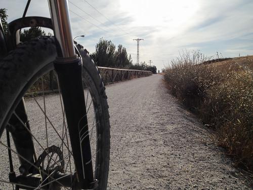 Ruta en bicicleta vía verde de Móstoles – Almorox – río Guadarrama – Senda a el Álamo