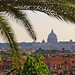 Tropical Rome - view towards Vatican City