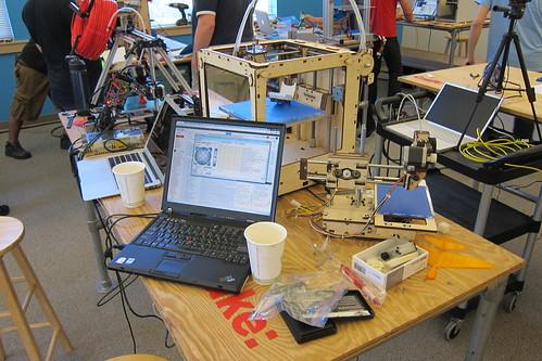 Make: 3D Printer Testing