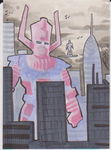Galactus by Bill Ellis