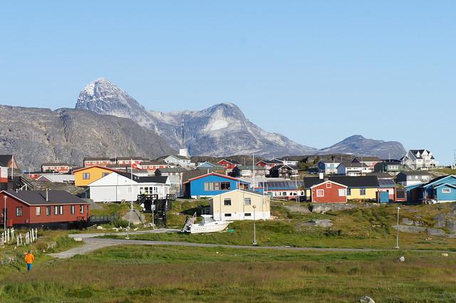 Day 1 at Nuuk, Greenland