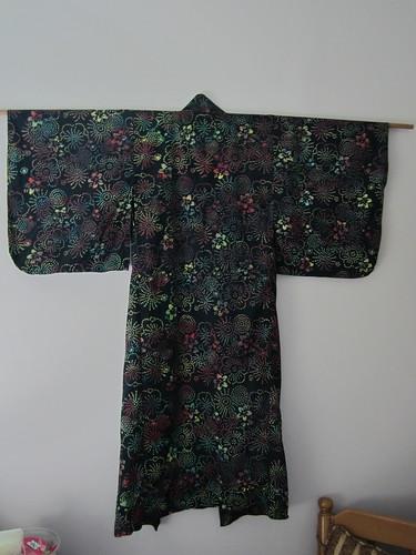 Rainbow Shibori Yukata