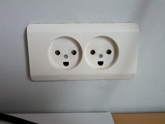 The Danes are apparently the happiest people on earth.  It's probably because of these outlets.