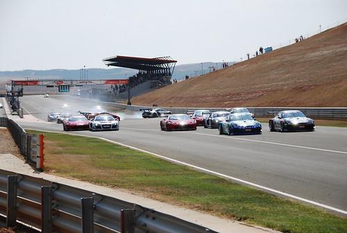 Salida Carrera Campeonato GT
