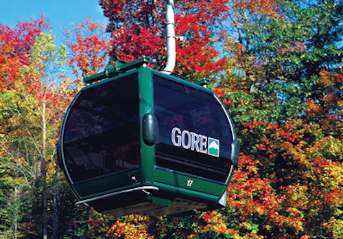 Gore Mt. Gondola, fall foliage