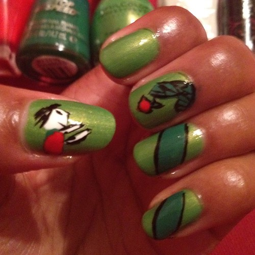 The Giving Tree nails!!