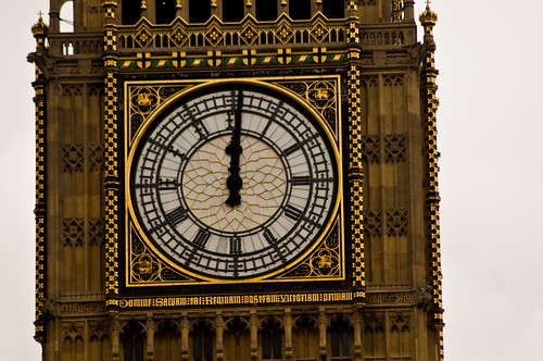 Westminster - The Clock Strikes Noon - 09-12-12