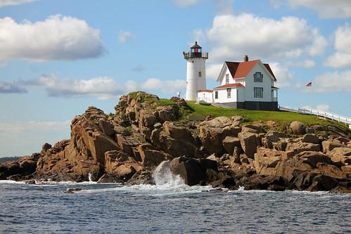 "Cape Neddick ""Nubble"" Lighthouse by nelights"