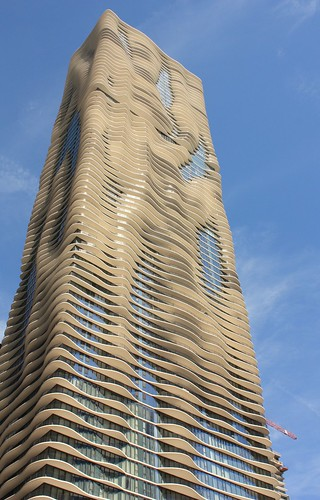 Aqua Tower by Jeanne Gang - Chicago