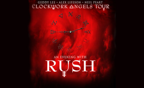 Rush Clockwork Angels Tour Graphic