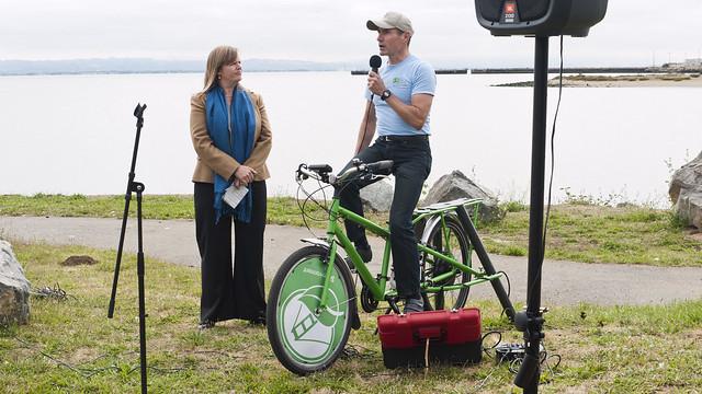 Pedal Power Your Own Speech!