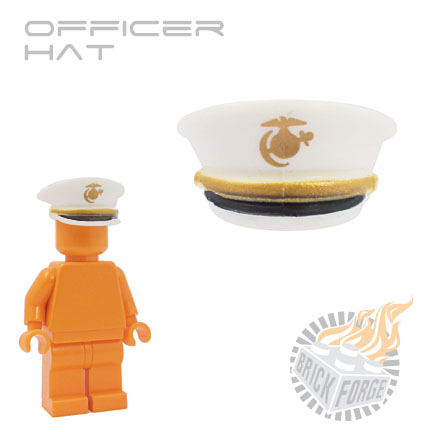 Officer Hat - White (USMC)
