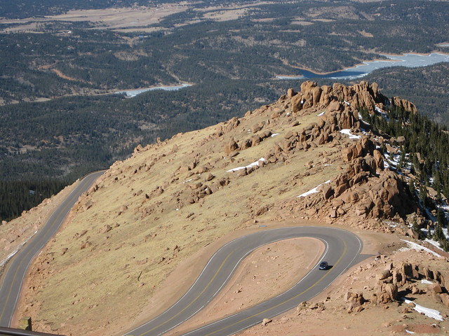 driving up to pikes peak co usa flickr photo sharing. Black Bedroom Furniture Sets. Home Design Ideas