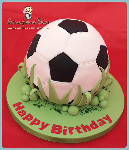 football cake images