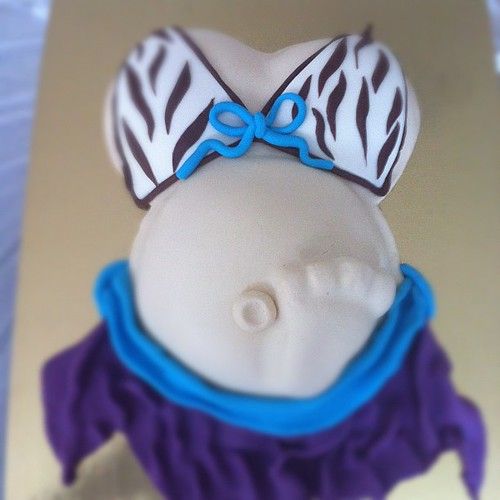 Baby shower cake by l'atelier de ronitte
