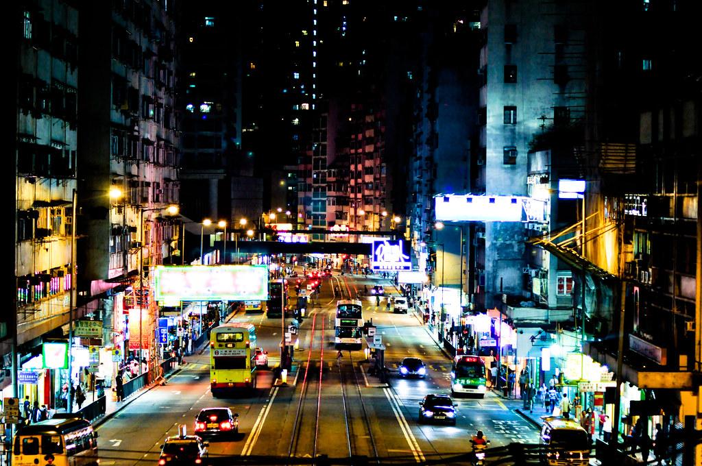 Hong Kong at Night ...