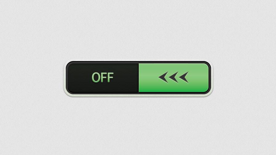On/Off Slider Button